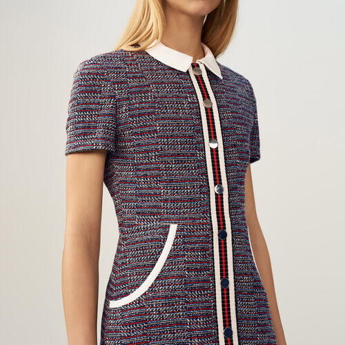 Tweed dress - Pre-collection - MAJE