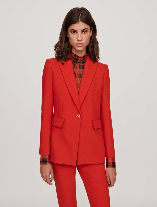 Cinched waist jacket - Jackets & Blazers - MAJE