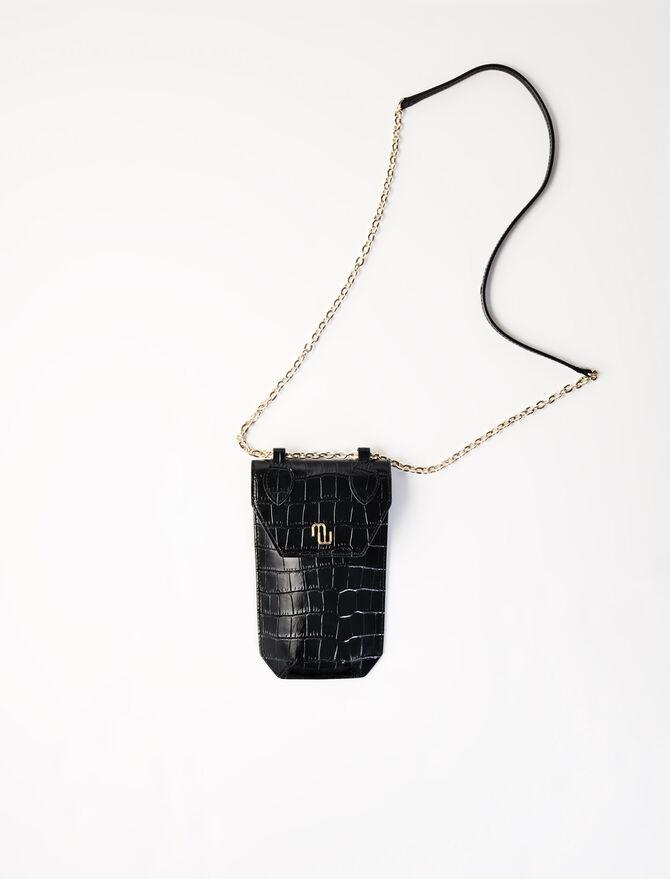 Crocodile-effect phone case - Arlissa's story - MAJE