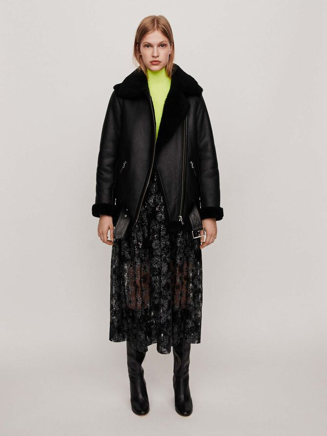Leather jacket - Jackets & Blazers - MAJE