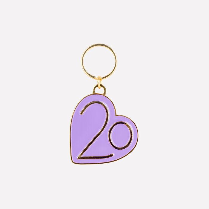 Keyrings X 20 years : Gadgets color Purple