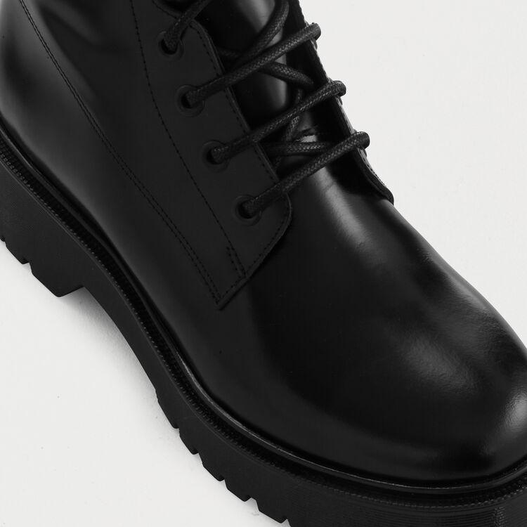 Ranger style booties : Booties color Black 210
