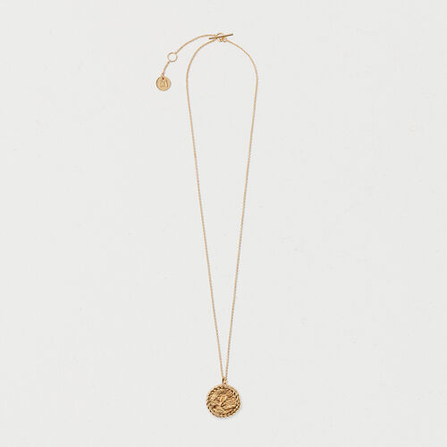 Number 8 medallion - Jewelry - MAJE
