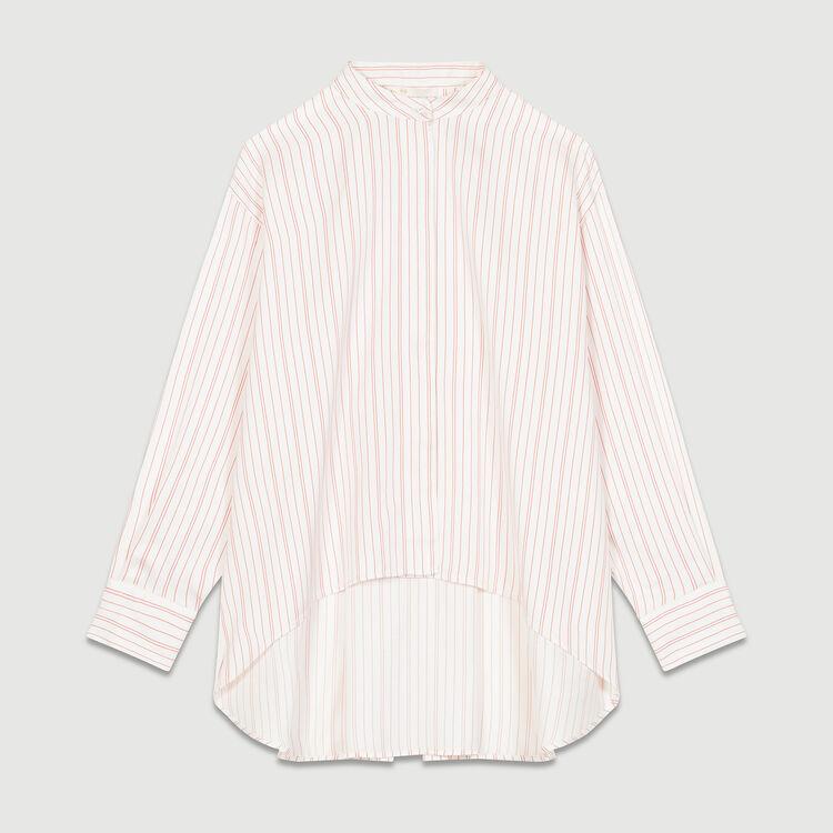 Oversized striped shirt : Shirts color Stripe
