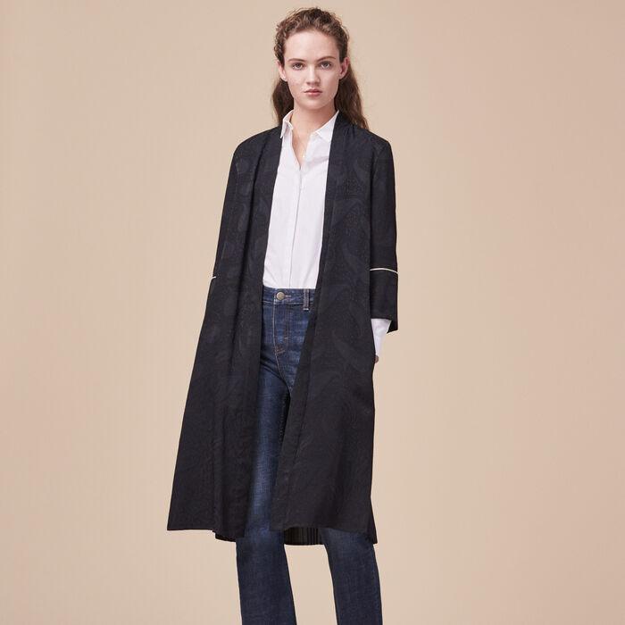 Floaty kimono-inspired coat - New markdown - MAJE