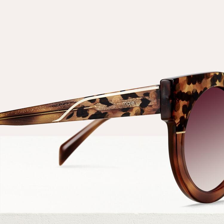 Cat's eye sunglasses : Eyewear color ECAILLE