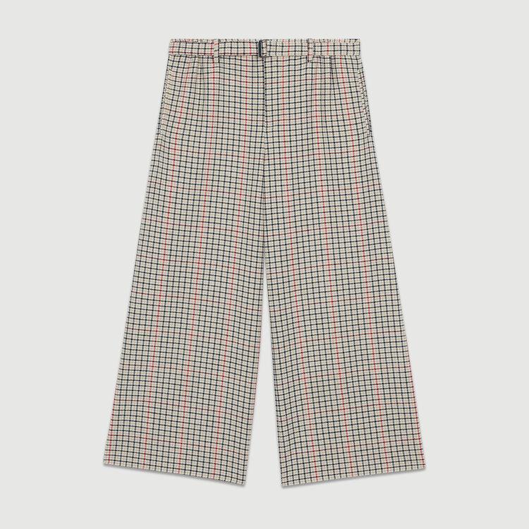 Plaid pants : Trousers color CARREAUX