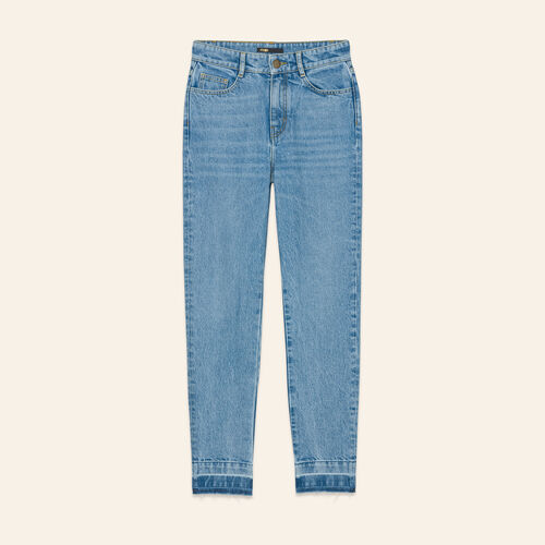 Faded skinny jeans : Jeans color Blue