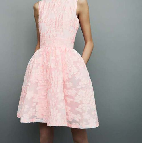 Dress with pink details : Dresses color Pink