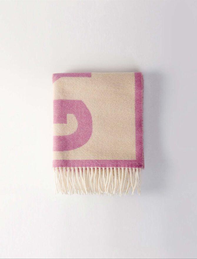 Jacquard scarf - Shawls & Ponchos - MAJE
