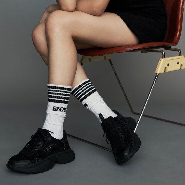 Urban socks in cotton : Gift with purchase color White