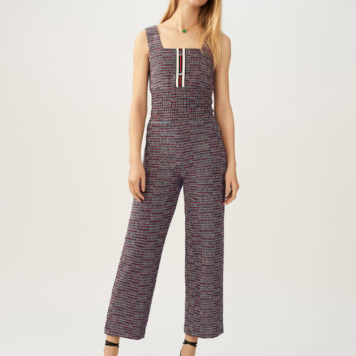 Tweed jumpsuit - Pre-collection - MAJE
