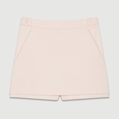 Crepe skort : New Collection color Pink
