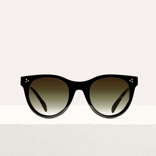 Acetate sunglasses : See all color Black
