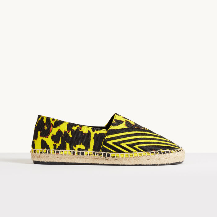 Printed espadrilles : Accessories color Yellow