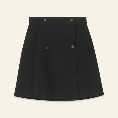 Wraparound skirt - Skirts & Shorts - MAJE