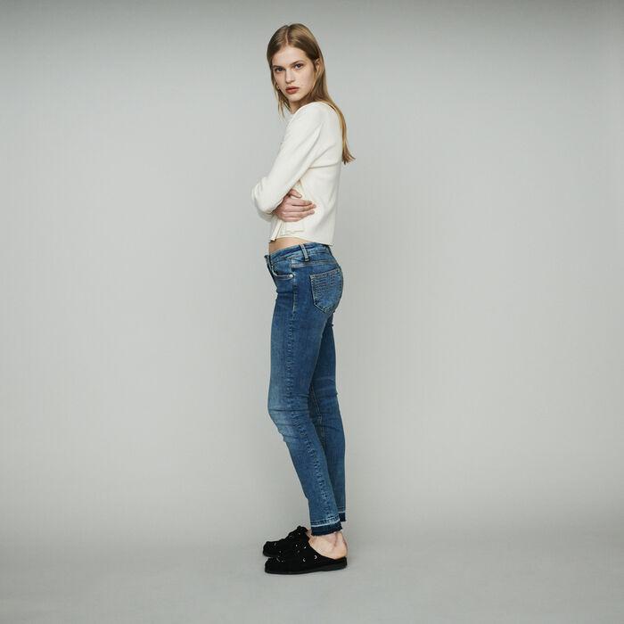 ceddeb4a17f PROBIN Slim jeans in stretch cotton - Trousers   Jeans - Maje.com