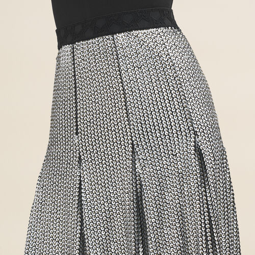 Midi sequinned skirt - Skirts & Shorts - MAJE