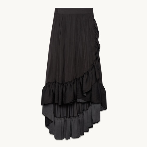 Long skirt with frills - null - MAJE