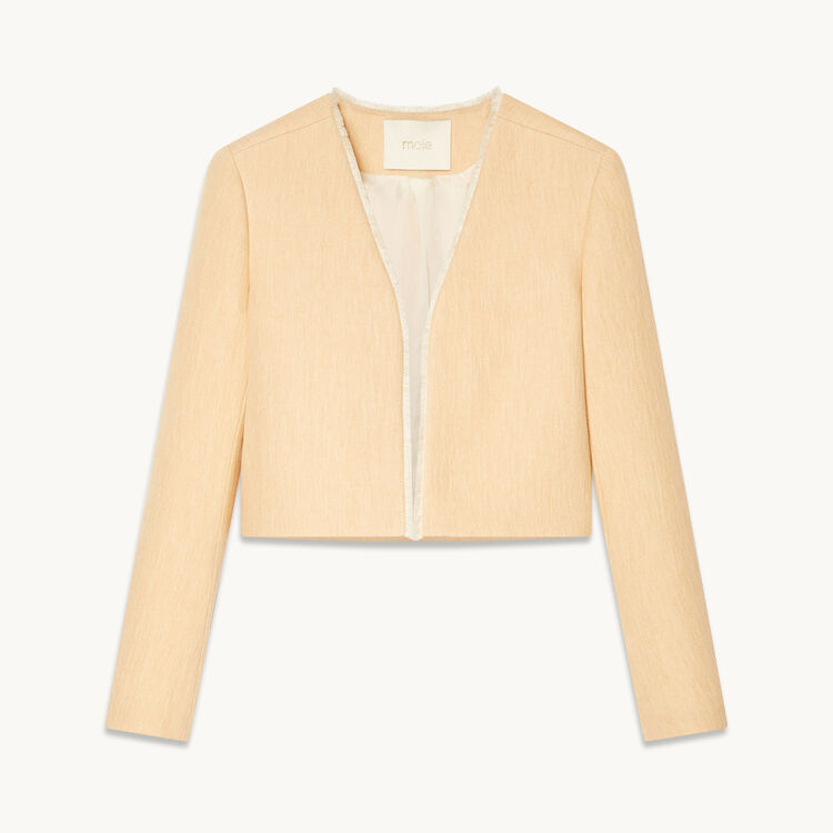Short jacket : See all color Nude
