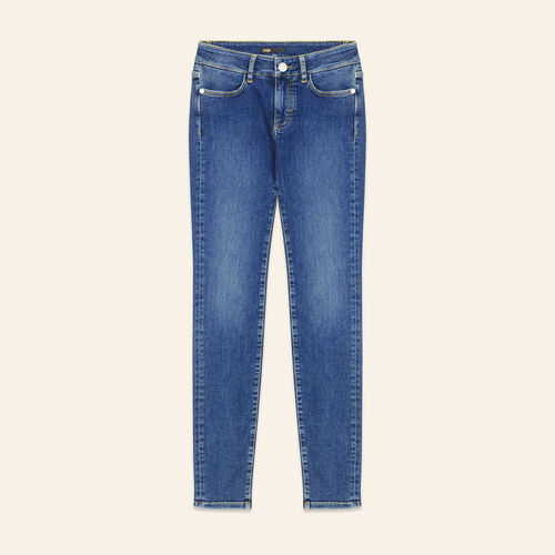 Faded slim jeans - Jeans - MAJE