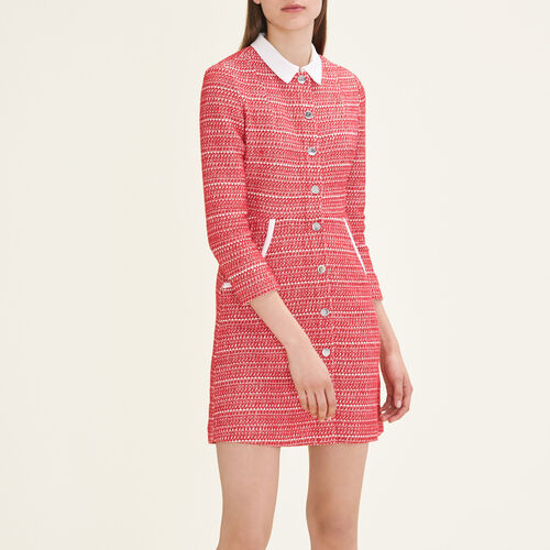 Jacquard dress - Dresses - MAJE