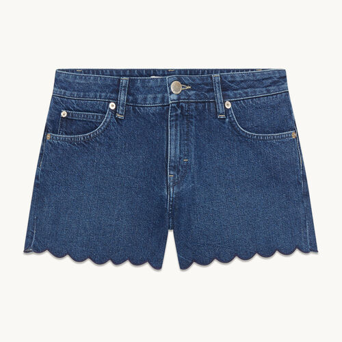 Denim shorts - null - MAJE