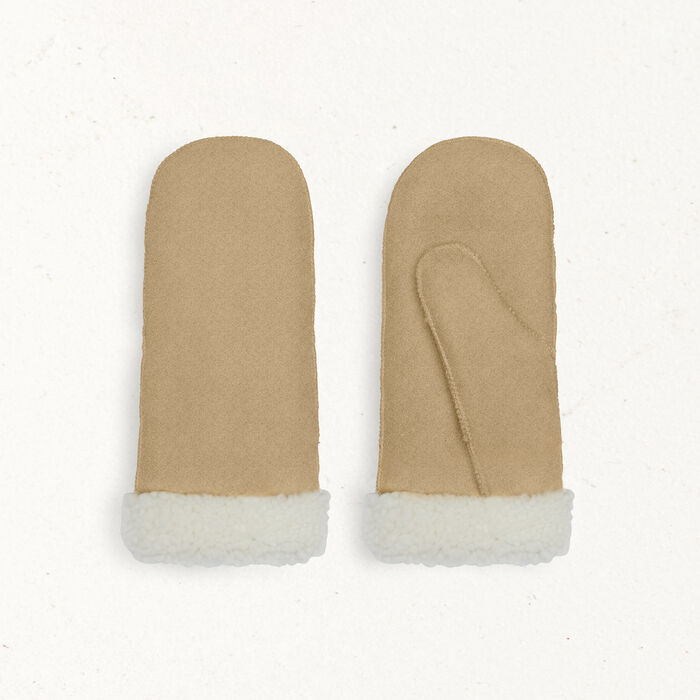 Sheepskin mittens - Other accessories - MAJE