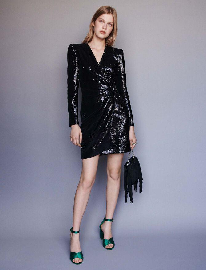 Sequin evening dress - Dresses - MAJE