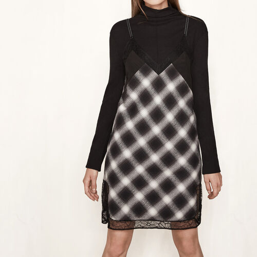 Short slip-style dress : Dresses color Print
