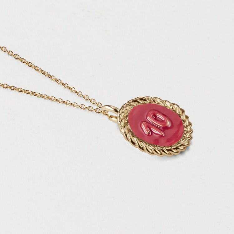 Number 10 medallion : Accessories color GOLD
