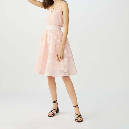 Skirt with pink details : Skirts & Shorts color Pink