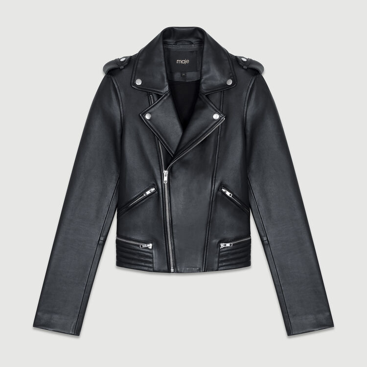 Perfecto leather jacket : Jackets color Black 210