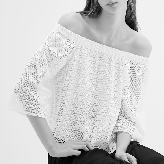 Lace top -  - MAJE