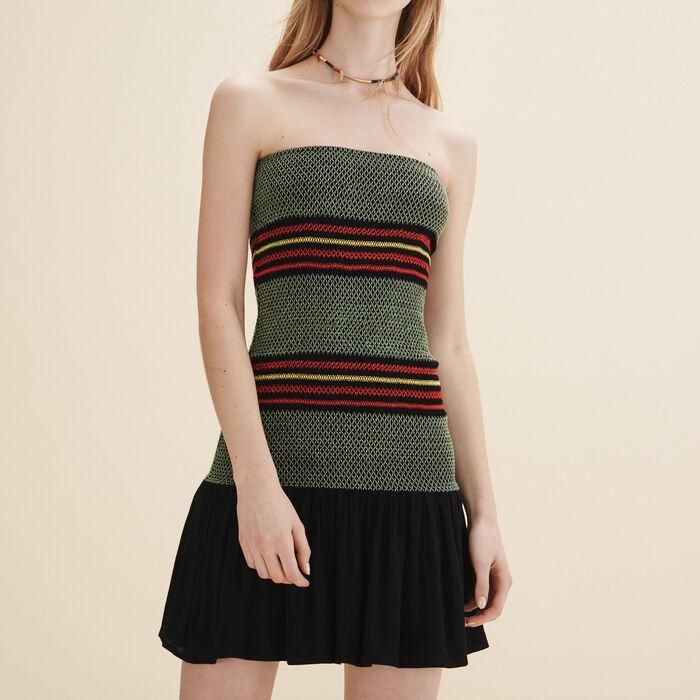 Strapless dress -  - MAJE