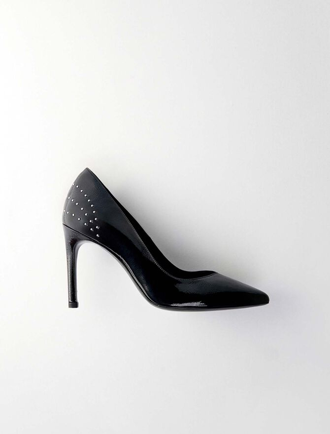Studded vinyl pumps -  - MAJE