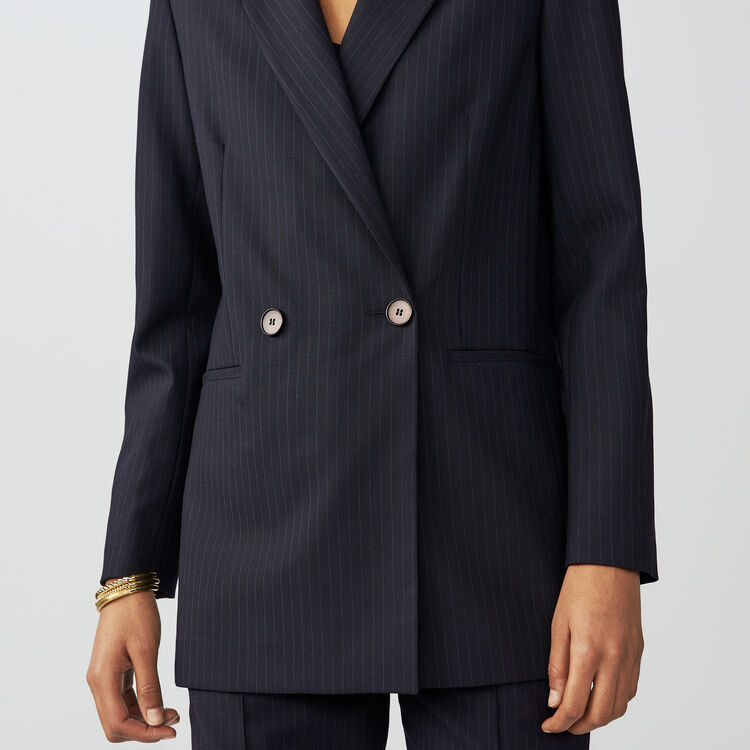 Blazer with tennis stripes : Blazers color Stripe