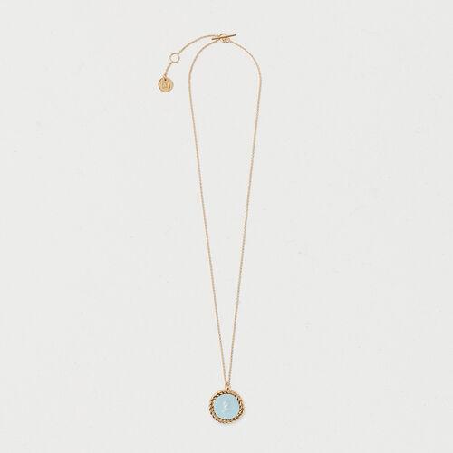 Number 3 medallion - Jewelry - MAJE