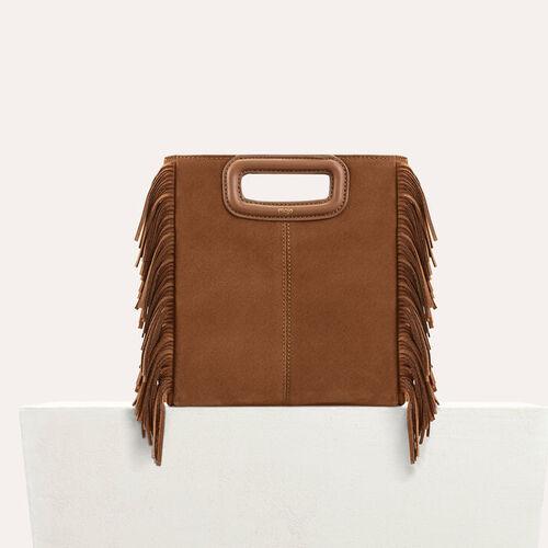 Suede M bag : Bags color Black 210