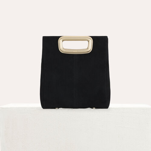 M Mini Skin bag in suede : M Skin color Black 210