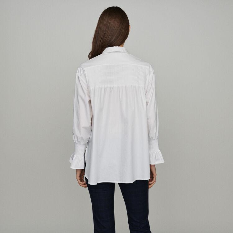 Floral print shirt : Tops & Shirts color White