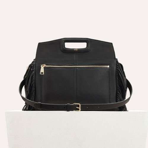 Leather shoulder bag  : M bags color Black 210