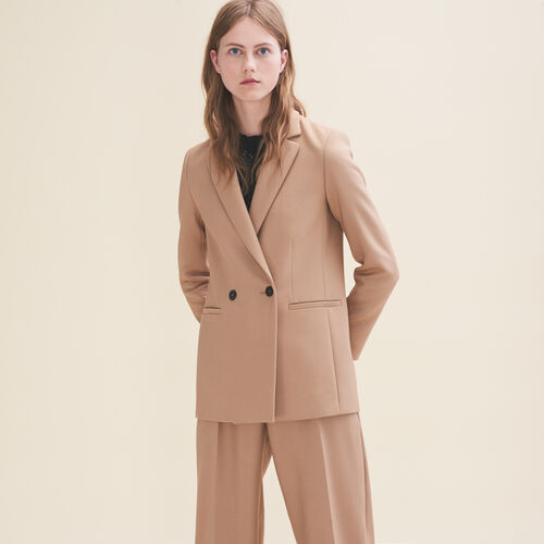 Mid-length tailored jacket - Blazers - MAJE