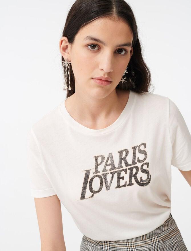 Silkscreen printed T-shirt - All the collection - MAJE