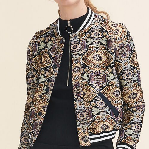 Jacquard jacket : Jackets & Blazers color Jacquard