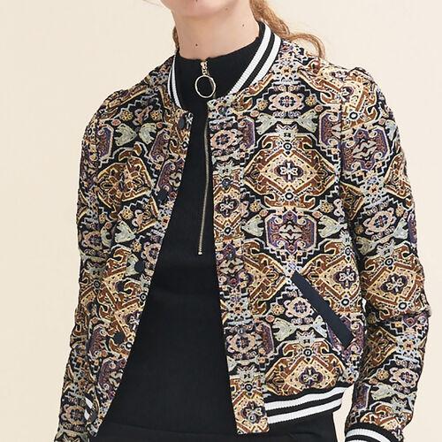 Jacquard jacket : Jackets color Jacquard