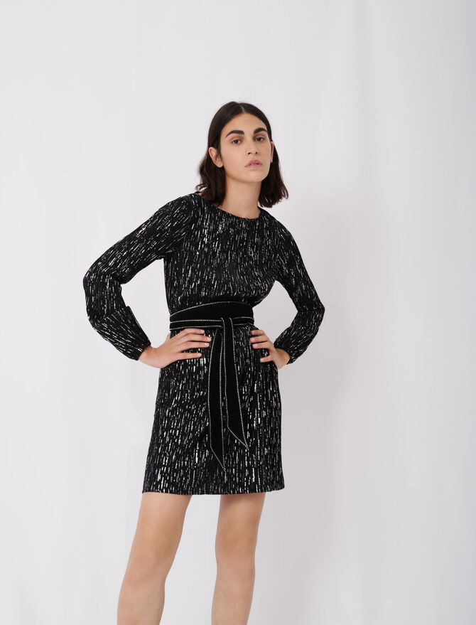 Short pleated dress - New collection - MAJE