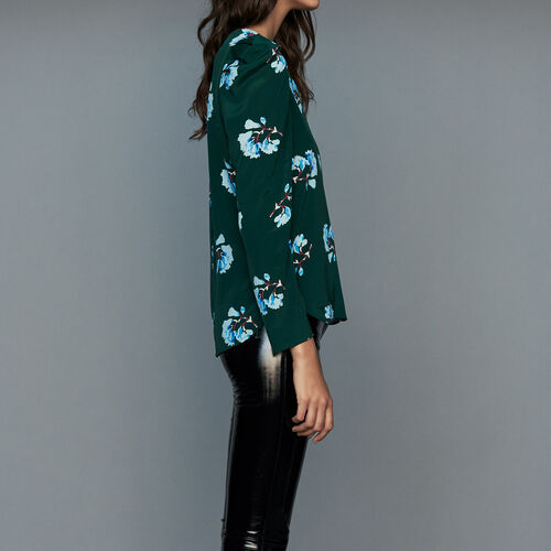 Blouse in floral print : Ready to wear color PRINTED