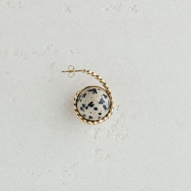 Right earring with natural stone - Jolly little gift - MAJE