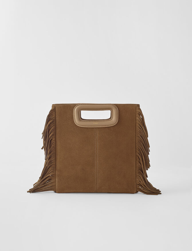 Suede M bag - New collection - MAJE